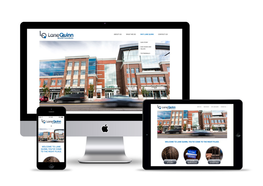 Web Design Lane Quinn
