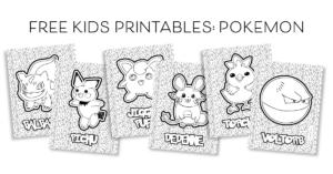 FREE Kids Printables