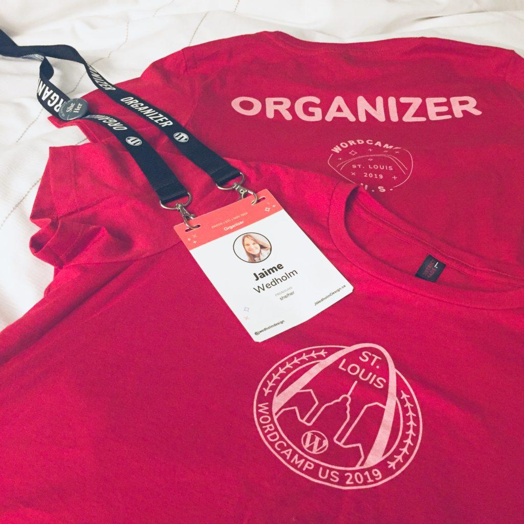 WordCamp US t-shirt design