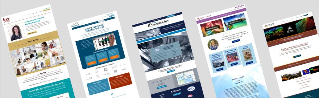 web design thumbnails